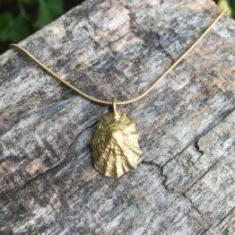 Chilli Designs gold plated limpet shell