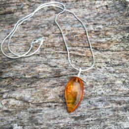 Chilli Designs Baltic amber pendant