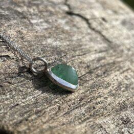 Chilli Designs emerald pendant