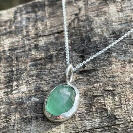 Chilli Designs emerald pendant