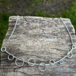 Chilli Designs circles necklace