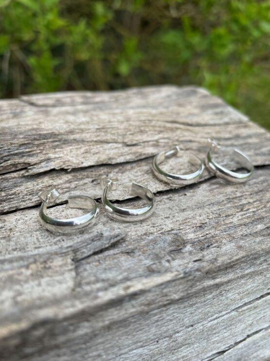 Chilli Designs hoop earrings