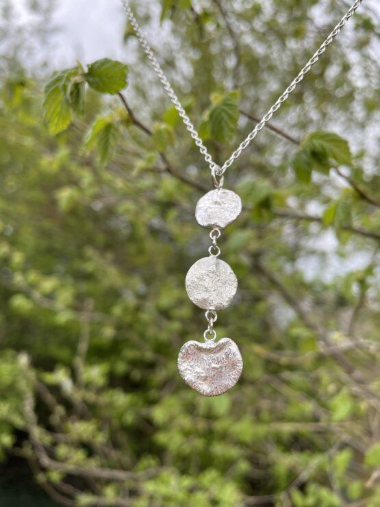 Chilli Designs reticulated drop pendant