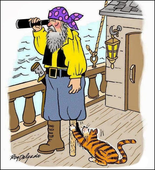 На піратському кораблі