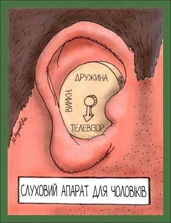 Слуховий апарат для чоловіків