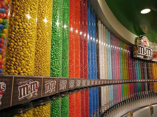 Магазин цукерок M&M's