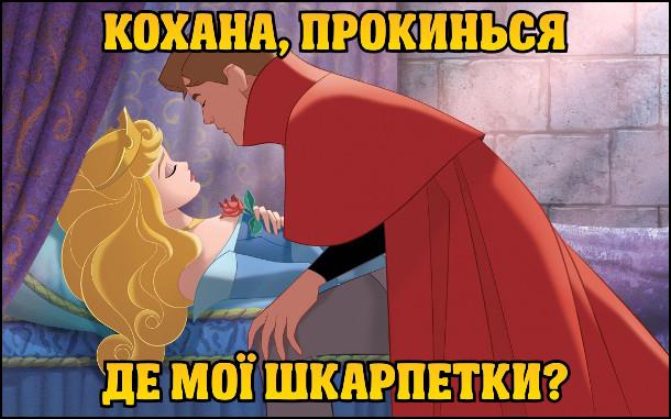 Спляча красуня і принц