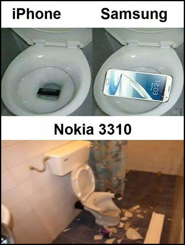 Гумор про Nokia 3310