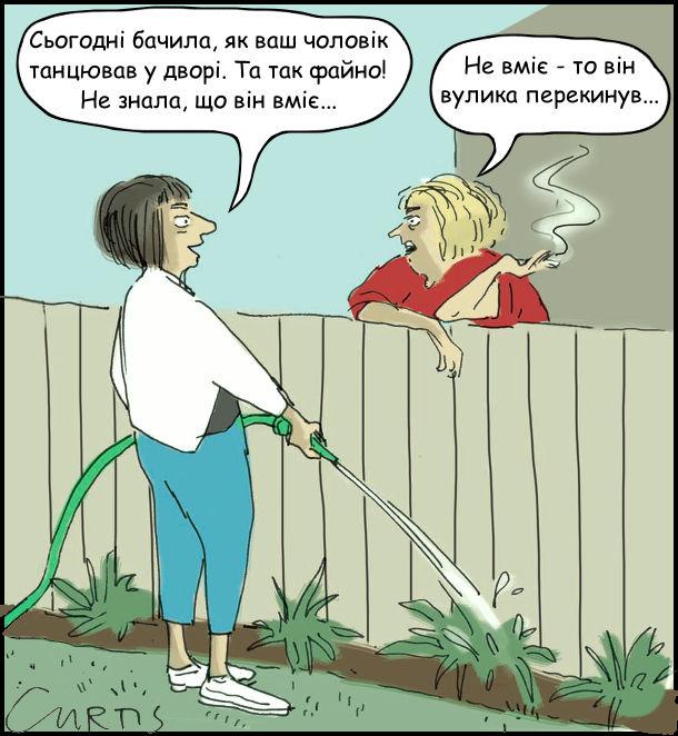 Анекдот про сусідів