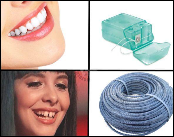 Зубна нитка. Остерігайтесь підробок!