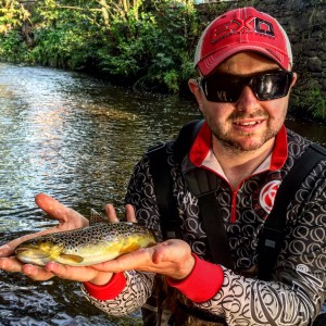 Heath and a Brown Trout
