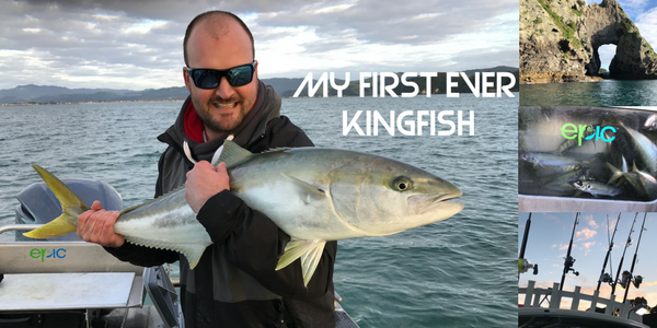 My First Ever New Zealand Kingfish