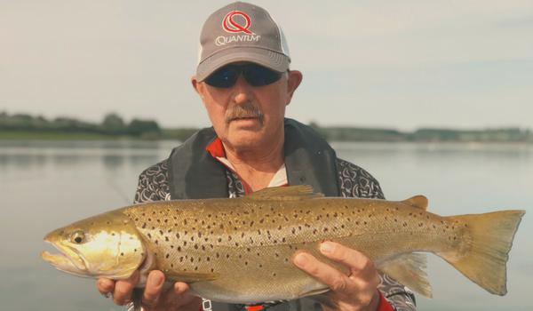 Large Brown Trout at 5lb 13oz