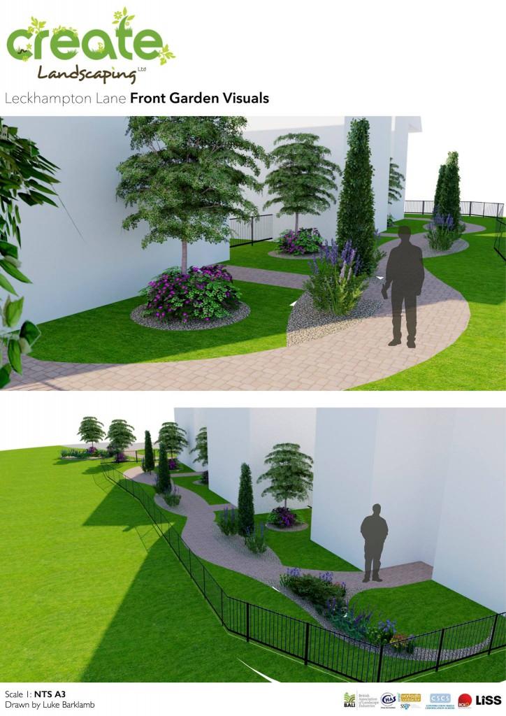 front garden visuals