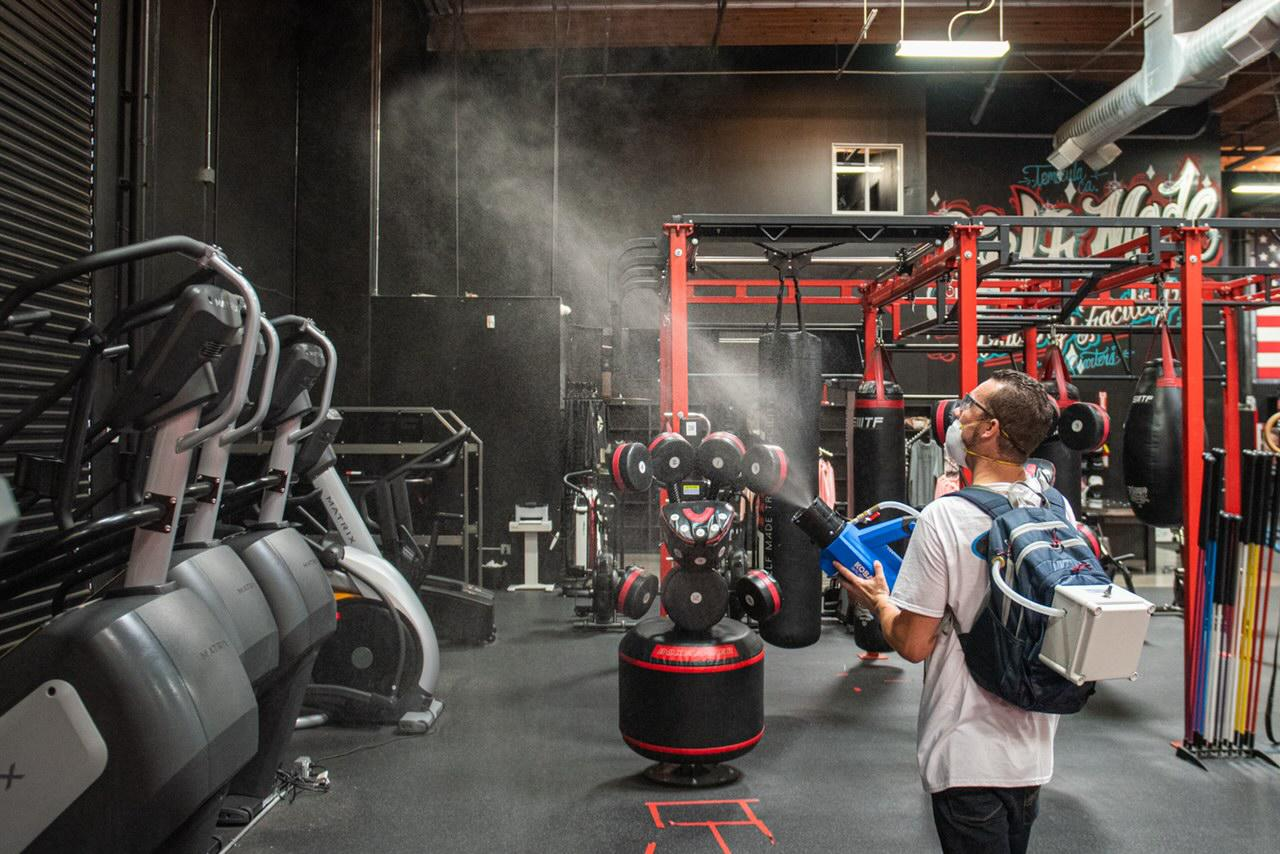 gym_disinfecting