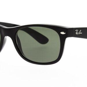 Ray Ban Sunglasses New Wayfarer Black RB2132 901L