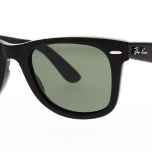 Ray Ban Sunglasses Wayfarer Black RB2140 901 58 Polarised 50