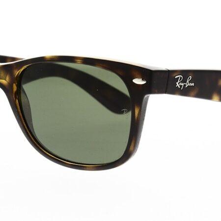 Ray Ban Sunglasses New Wayfarer Tortoise RB2132 902 58 Polarised 55
