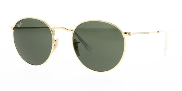 Ray Ban Sunglasses Round Metal RB3447 001 50