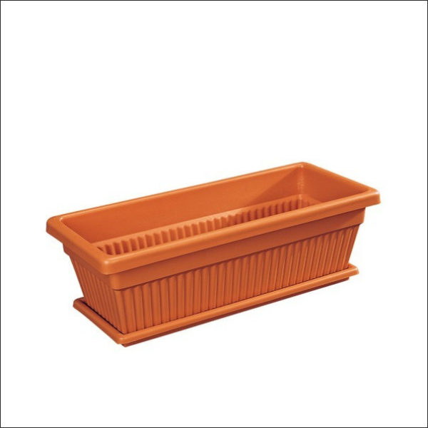 Yoidentity Rectangular Pot (Terracotta)