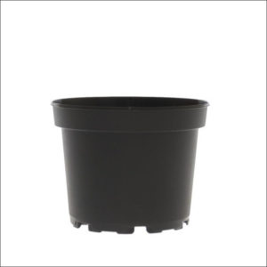 Yoidentity Plastic Pot Black