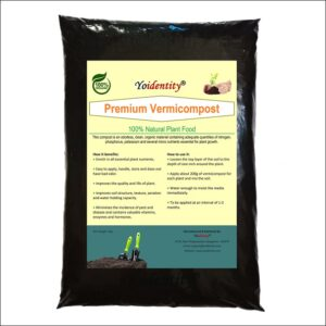 Yoidentity Branded Vermicompost Organic Fertilizer For Plants