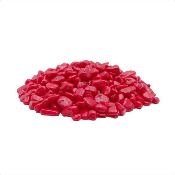 Yoidentity Aquarium Pebbles Red