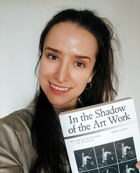 art based learning book