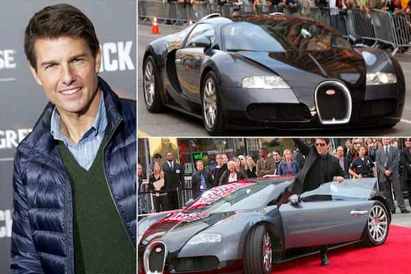 Tom Cruise Car