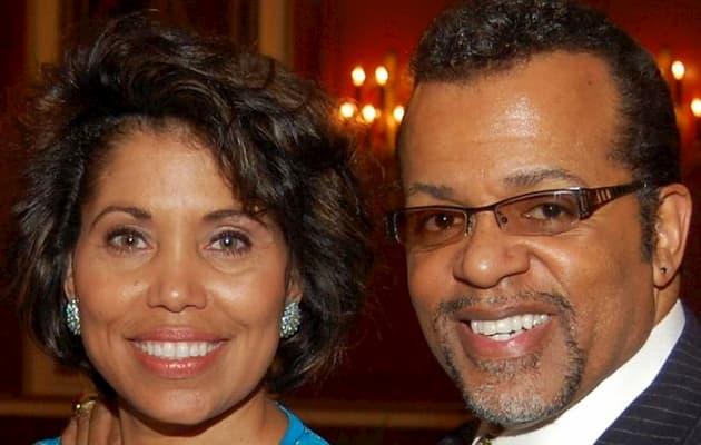 Carlton Pearson and wife