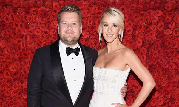 James Corden and Wife Julia Carey