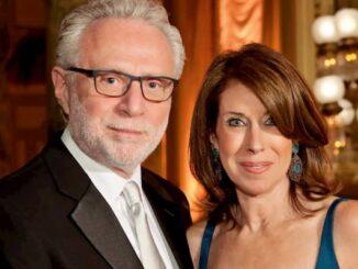 Lynn Greenfield and Husband Wolf Blitzer