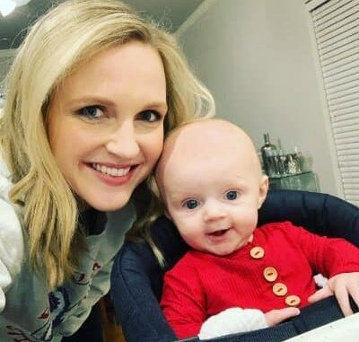 Stacia Knight and Her son