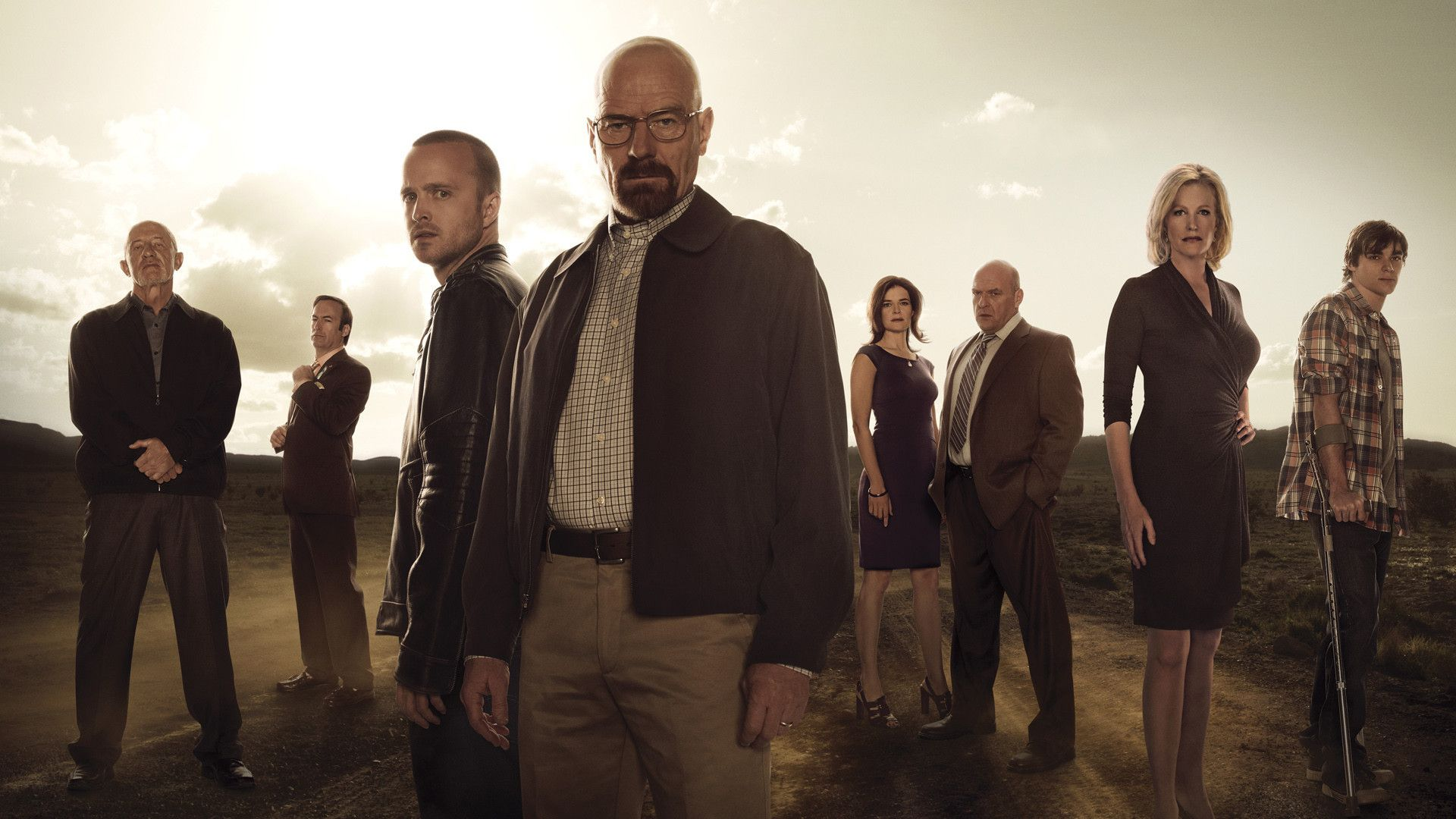 Foto del cast di Breaking Bad