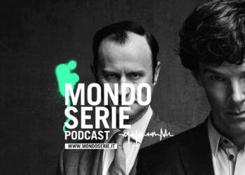 Immagine: cover per Holmes e dintorni, per il podcast di Mondoserie