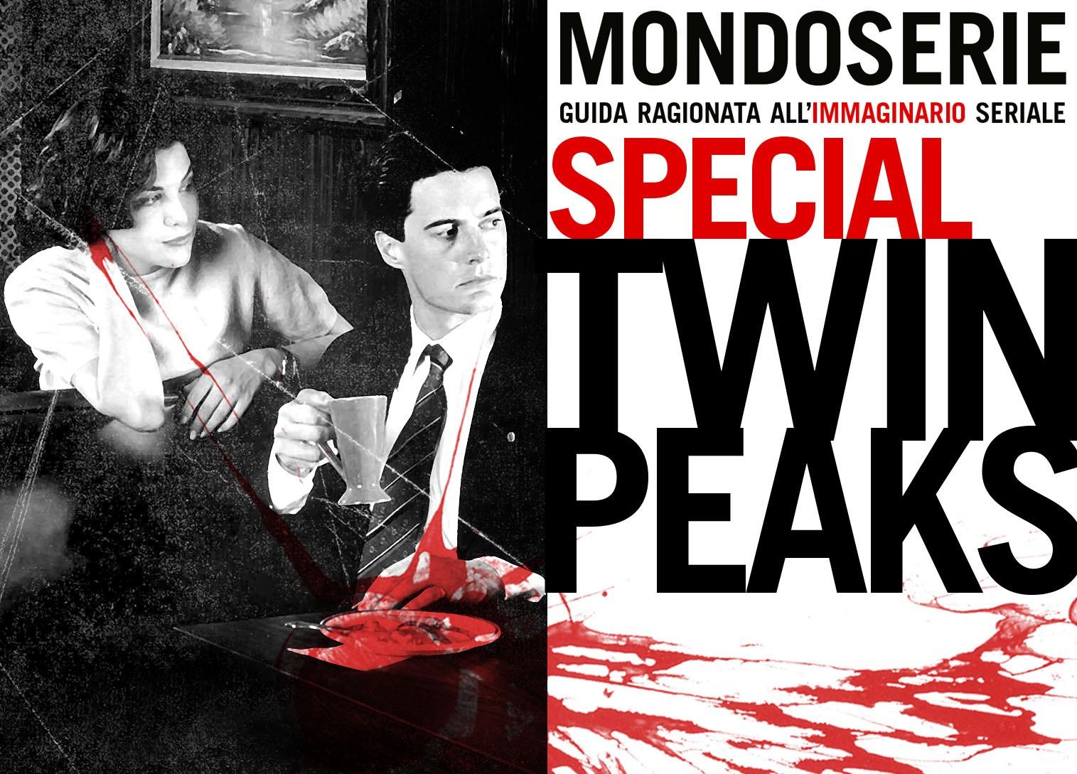 Immagine: artwork dello Special Twin Peaks 30 è per MONDOSERIE