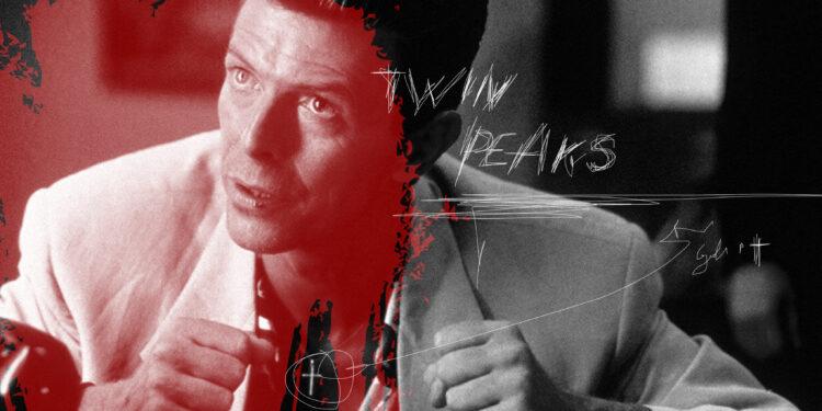 Artwork: Twin Peaks rock, David Bowie