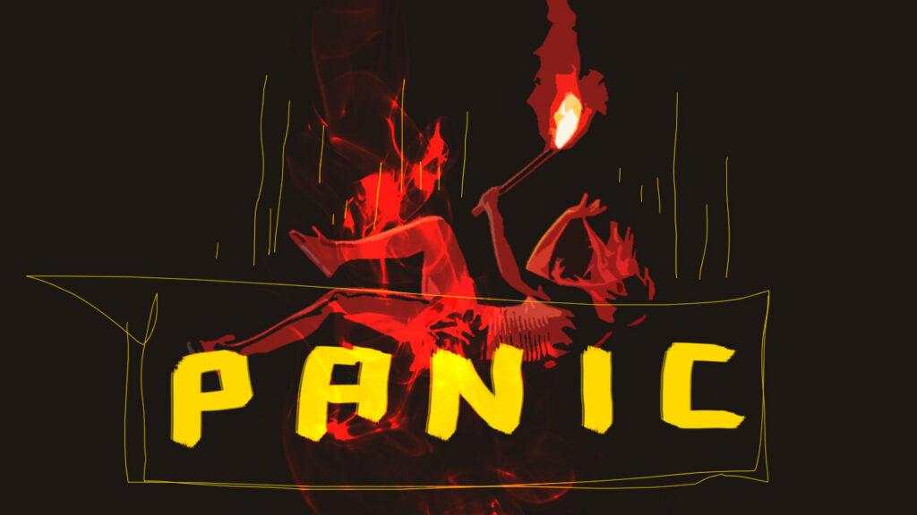 Artwork: cover di Panic per MONDOSERIE