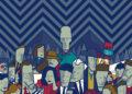 Illustrazione di Ale Giorgini su Twin Peaks