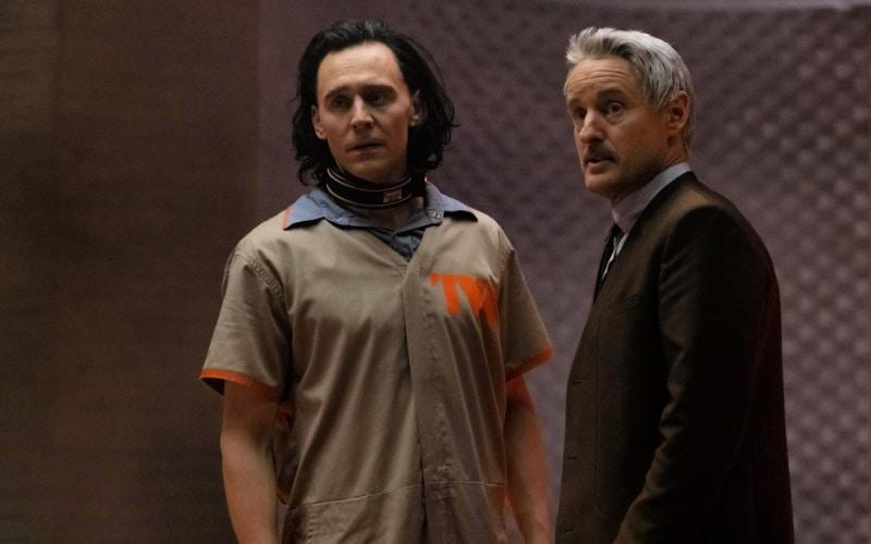 Foto: Loki e Mobius