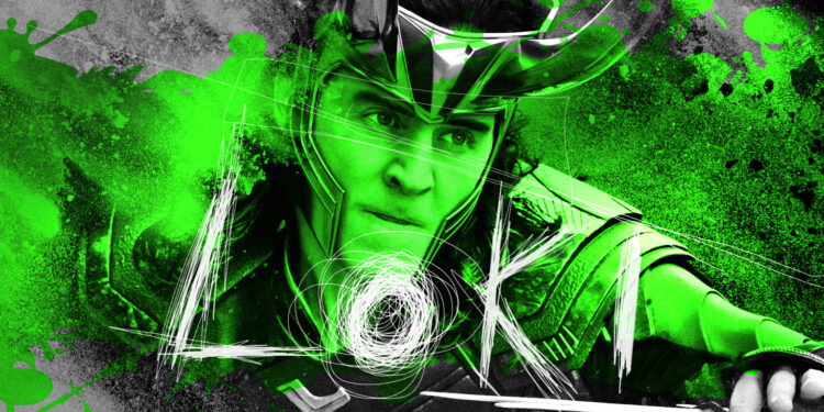 Artwork di Loki per MONDOSERIE