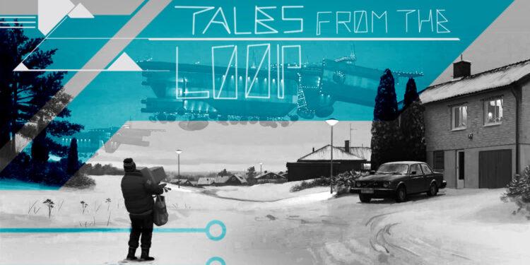 Artwork di Tales from the Loop per MONDOSERIE