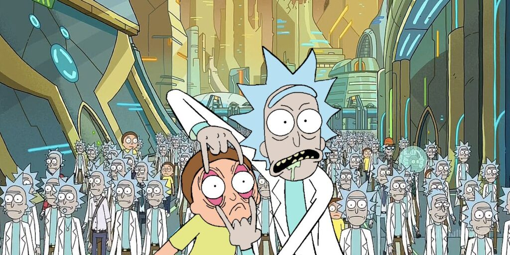 Foto: Rick e Morty
