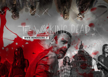 Artwork di The Walking Dead per Mondoserie