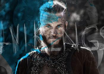 Artwork di Vikings per Mondoserie