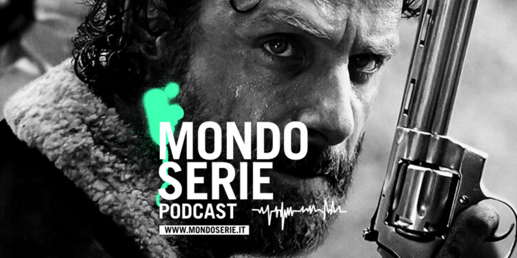 Cover di The Walking Dead podcast politica per MONDOSERIE