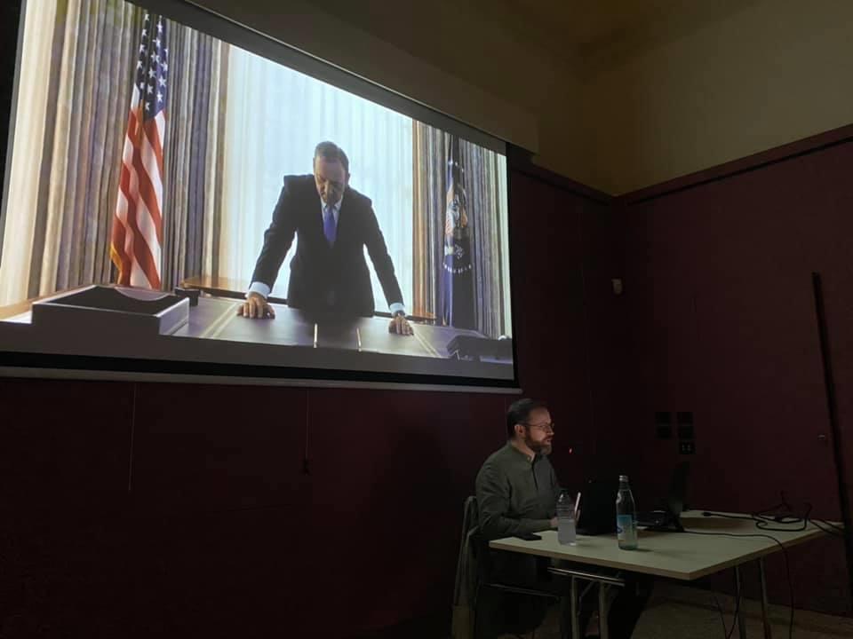 Foto: Dark Power politica cinema tv evento
