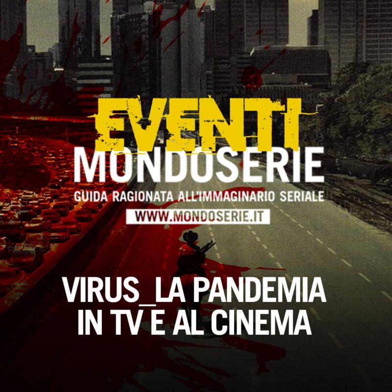 Locandina: virus pandemia evento