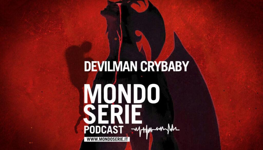 Cover di Devilman Crybaby per MONDOSERIE