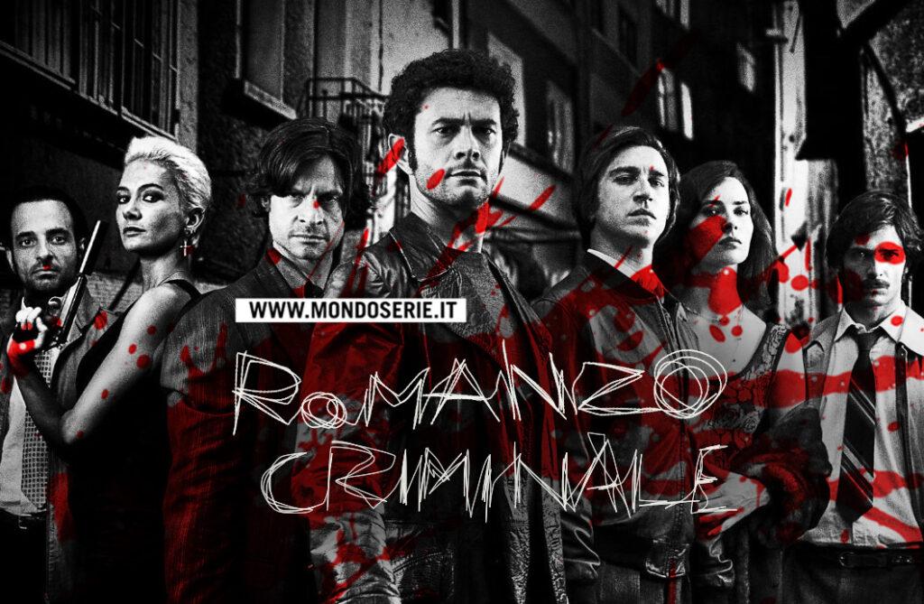 Artwork Romanzo Criminale per Mondoserie